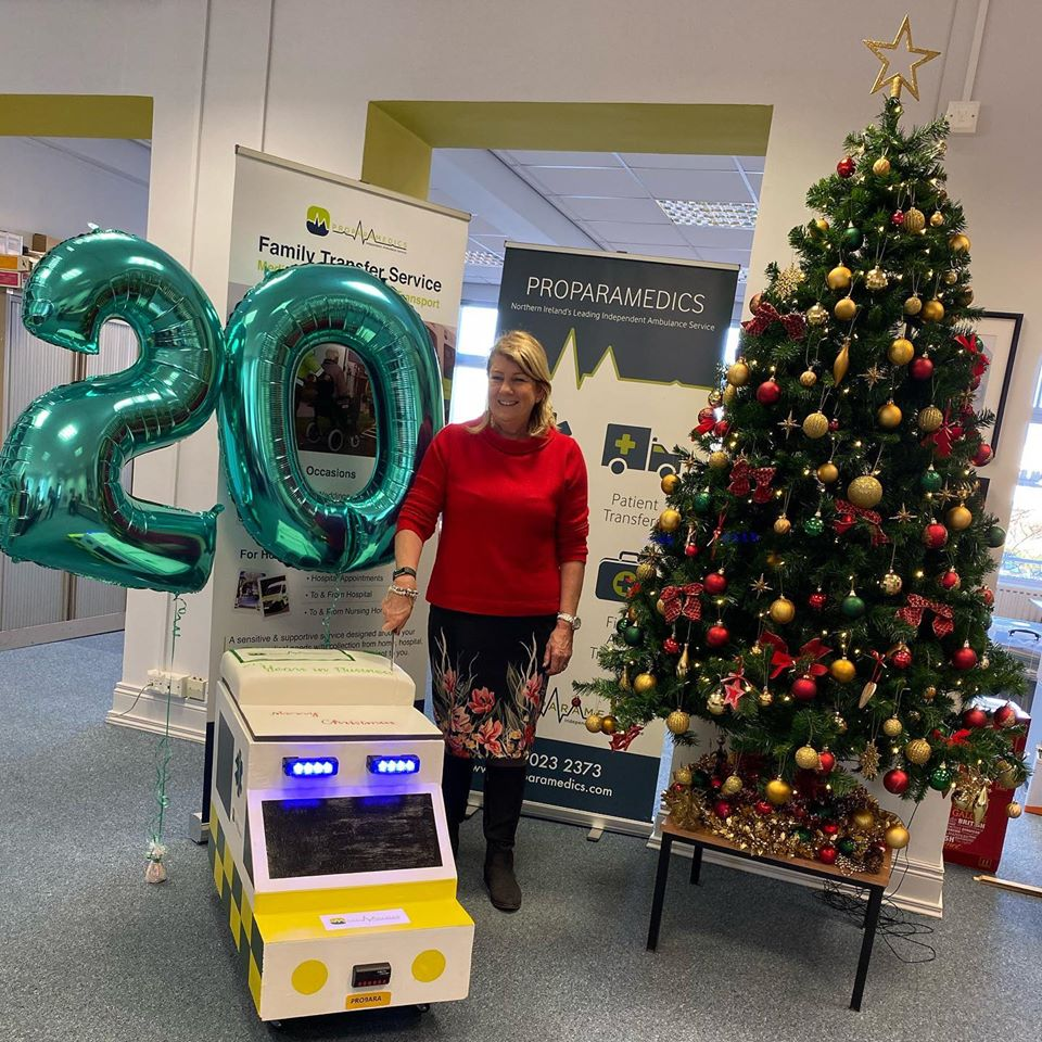 20 Years in business for Proparamedics